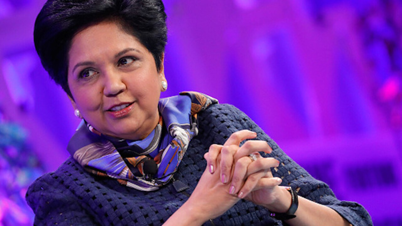 Indra Nooyi: Pepsi's CEO will step down in October
