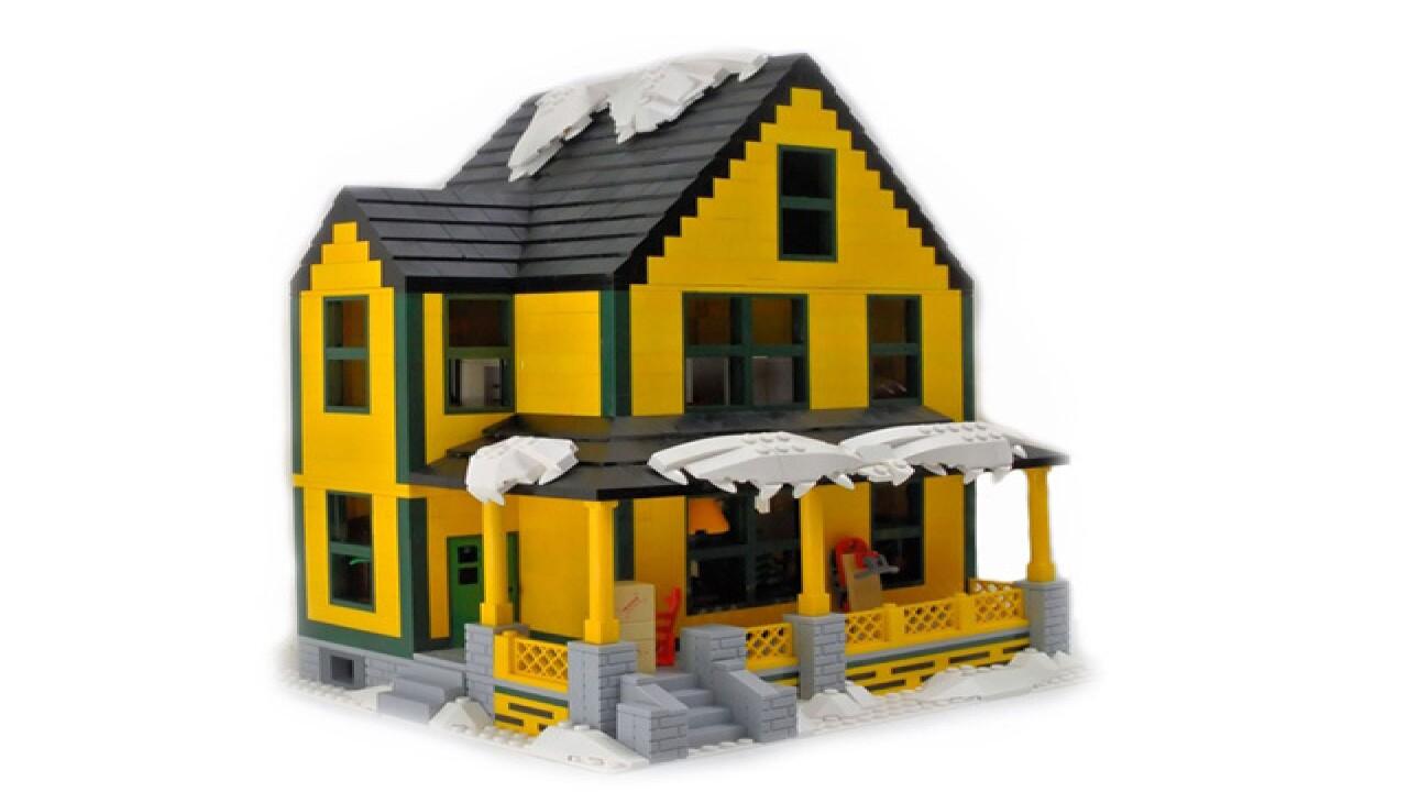 Christmas Story House.Lego Christmas Story House Reaches Halfway Goal Halfway To