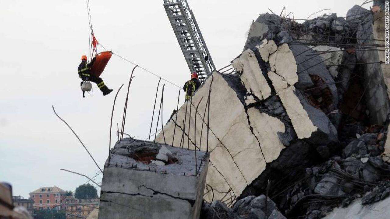 Genoa collapse: 'Thousands' of other bridges in Italy may be at risk, experts warn