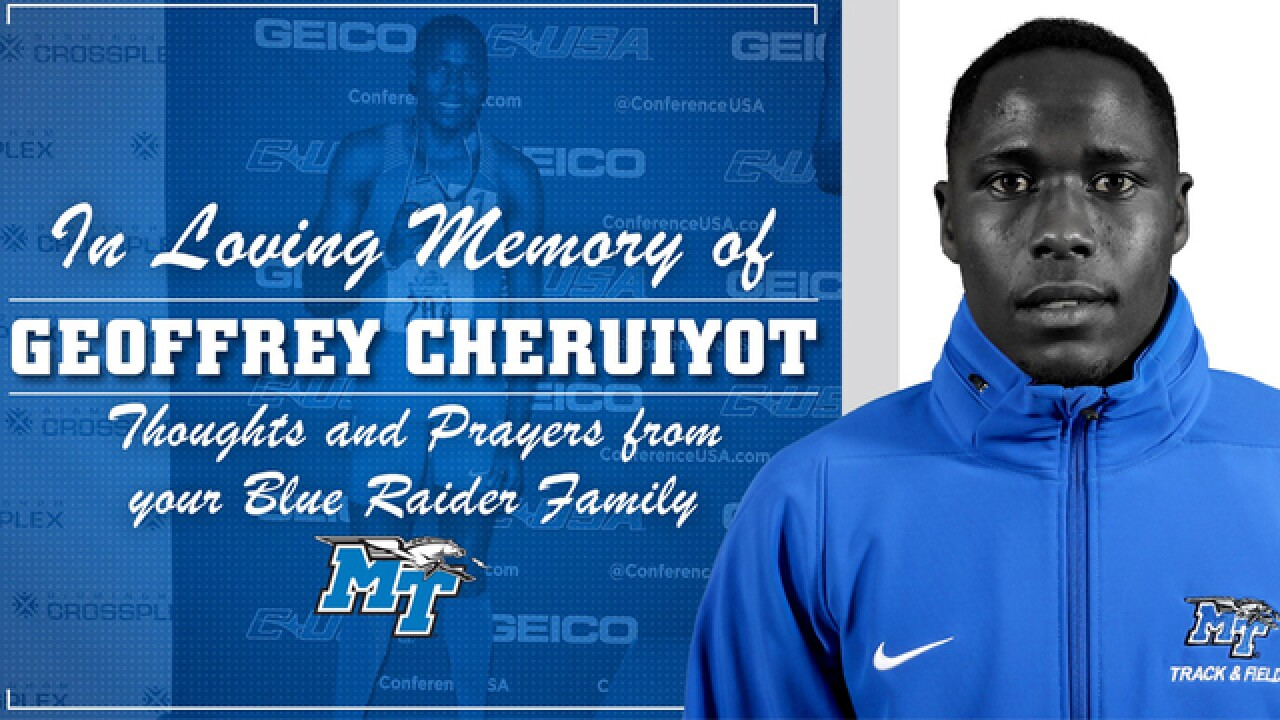 MTSU Track & Field Runner Killed
