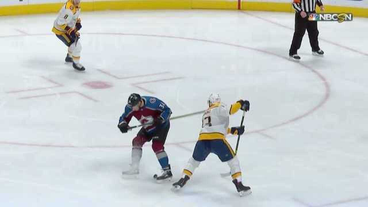 Preds Start Fast, Hang On To Beat Avs 3-2