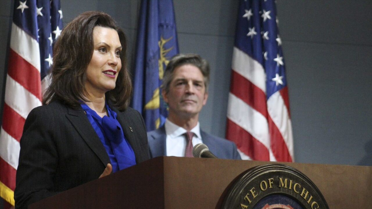 Gov Whitmer Provides Update On Coronavirus In Michigan Talks State Of Emergency Extension