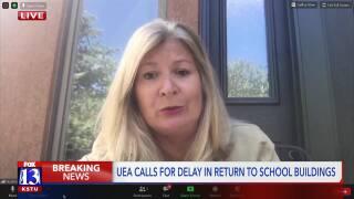 UEA President, Heidi Matthews