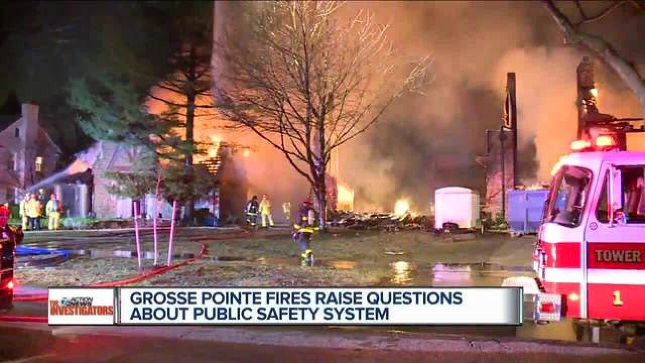 Grosse Pointe fires raise response concerns