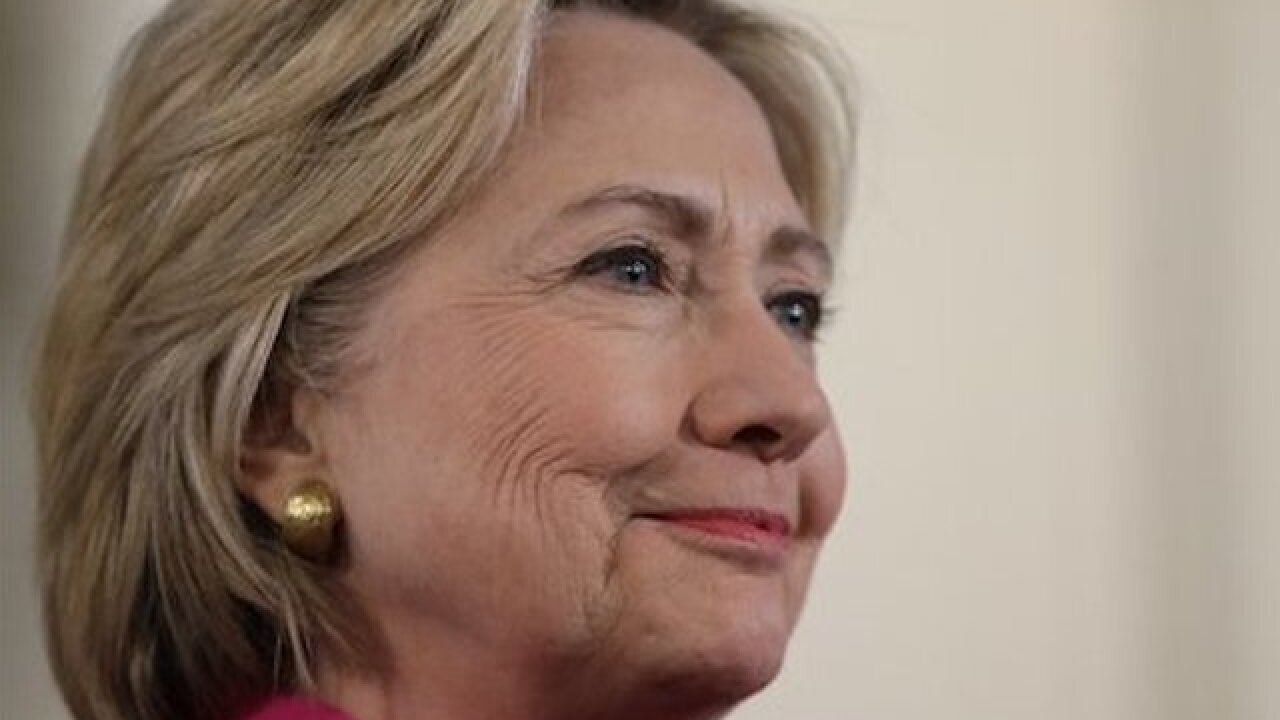 State short of goal to release Clinton emails