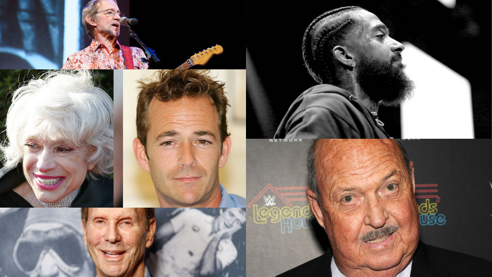 These are the stars we've lost in 2019