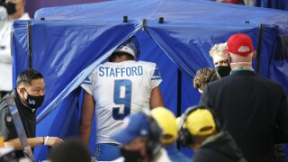 QBs Stafford, Allen, several TEs injured on rough NFL Sunday