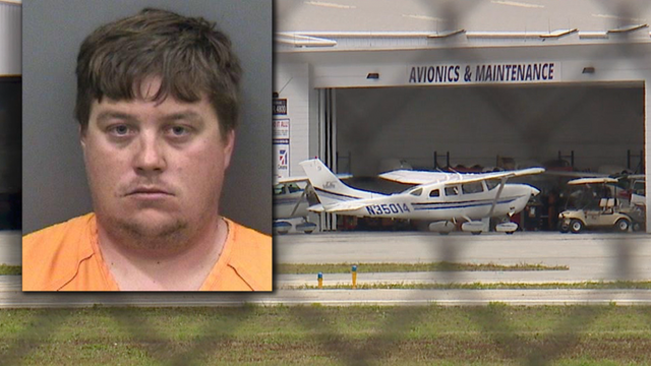 Florida man attempted to steal 2 airplanes