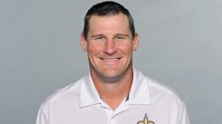 Dan Campbell New Orleans Saints headshot