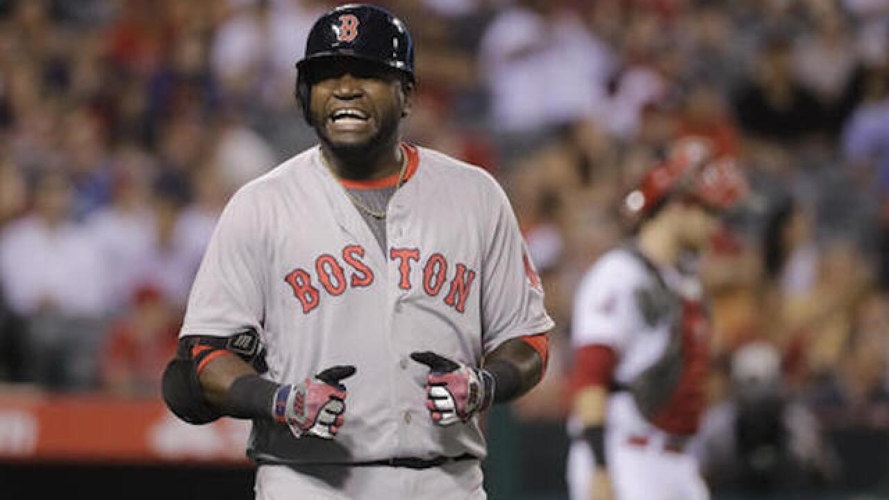 Big Papi records wake-up call for Boston students