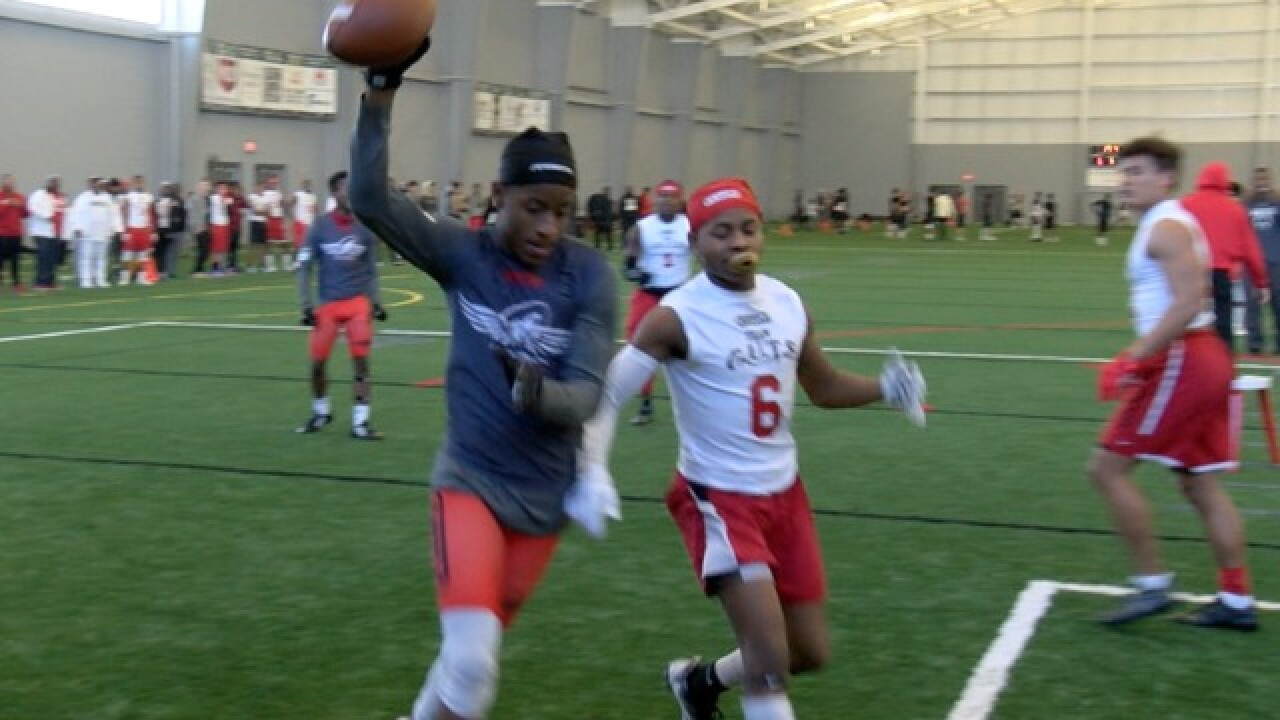 Legacy Center kicks off AAU Football season
