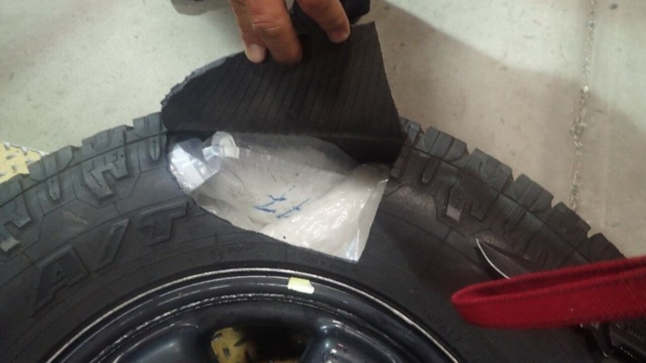 CBP Officers Seize $1.9M in Drugs