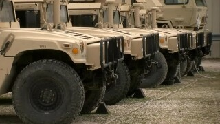 Wisconsin National Guard members going to southwest border