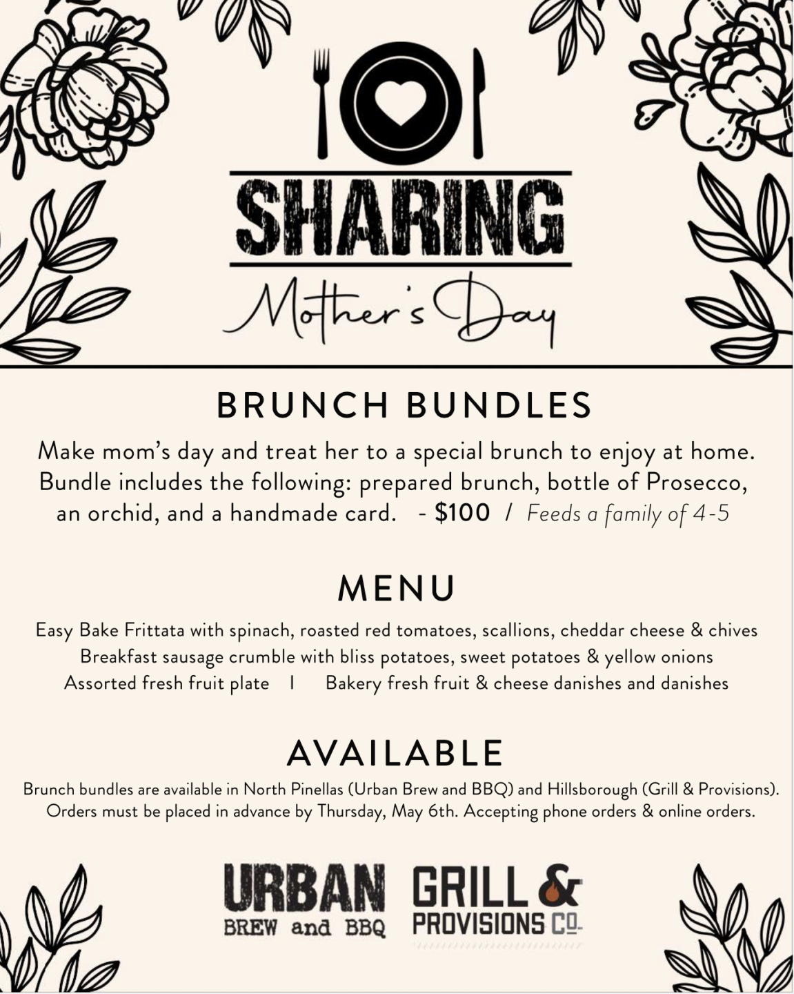 Sharing Mothers Day Urban Brew and BBQ menu.png