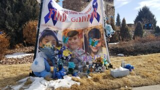Memorial in Lorson Ranch for Gannon Stauch.