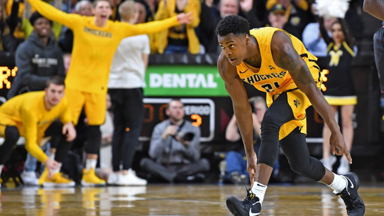 Wichita State holds on at home without Shamet, 93-86 over Tulane