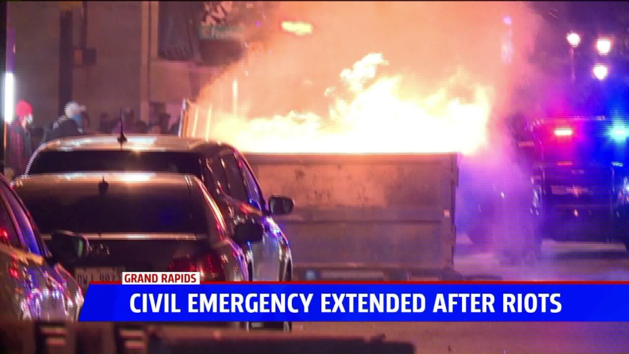 State of Civil Emergency extended