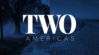Two Americas - Blue