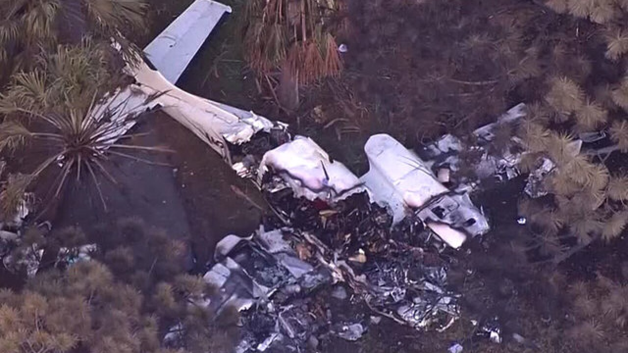 Preliminary report out on deadly plane crash