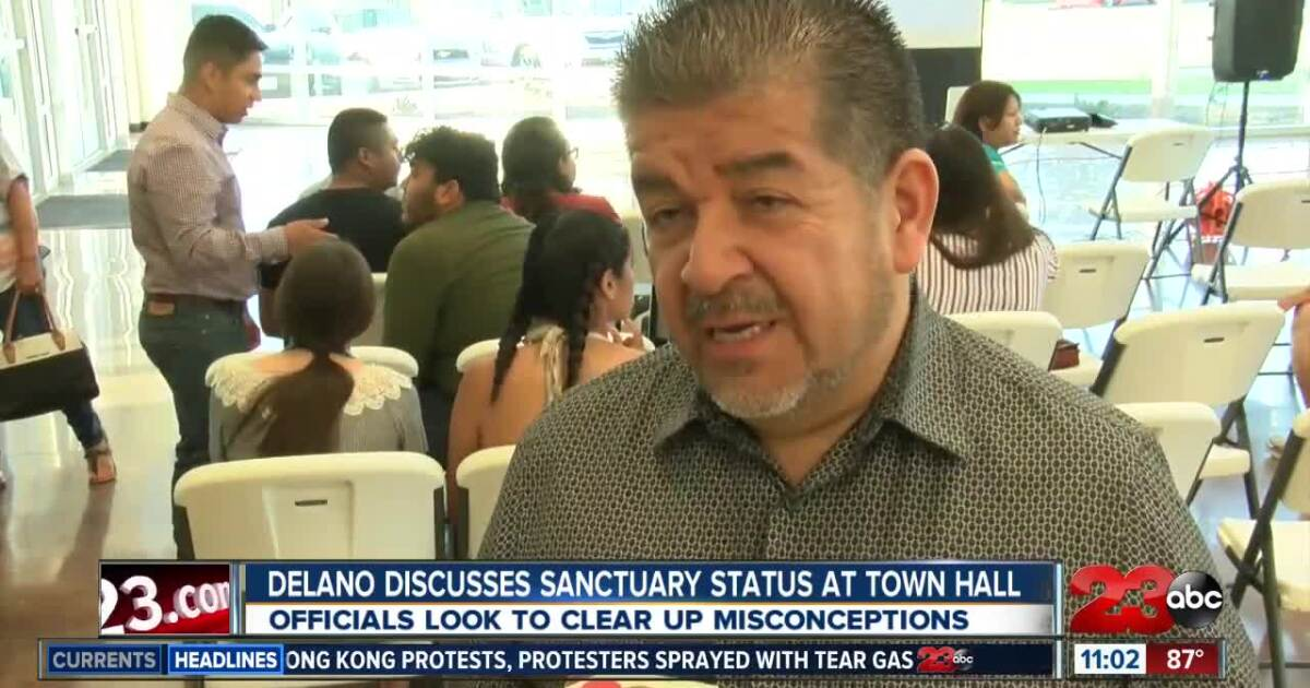 Delano holds town hall to discuss new sanctuary status