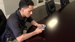 Brian Roman of Indianapolis got a phone call in which the scammers claimed they were trying to locate him in connection with a criminal case.  But Roman is not charged with any crime.
