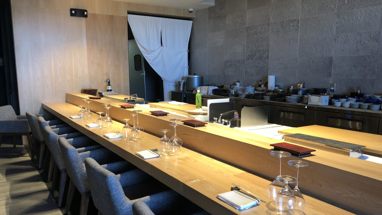 Shinbay The 185 Omakase Seafood Dinner In Scottsdale You