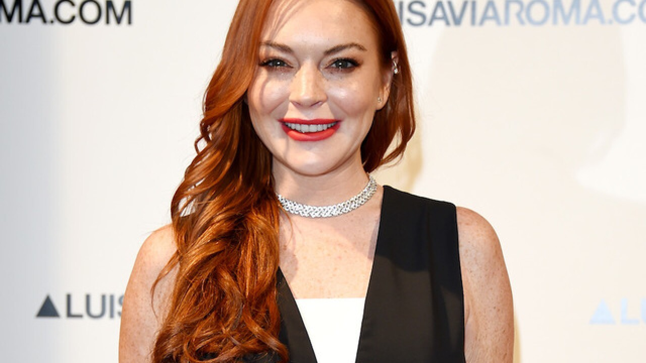 Lindsay Lohan really wants a 'Little Mermaid' gig