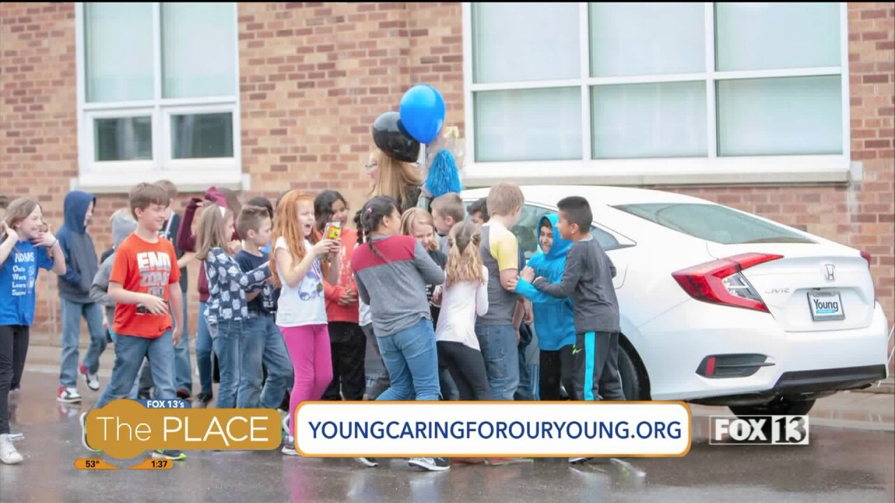 $2 million dollars donated to local schools and non-profits by 'Young Caring For Our Young'