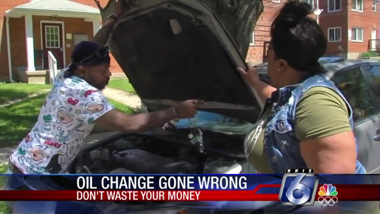 DWYM: Oil change done wrong flummoxes women