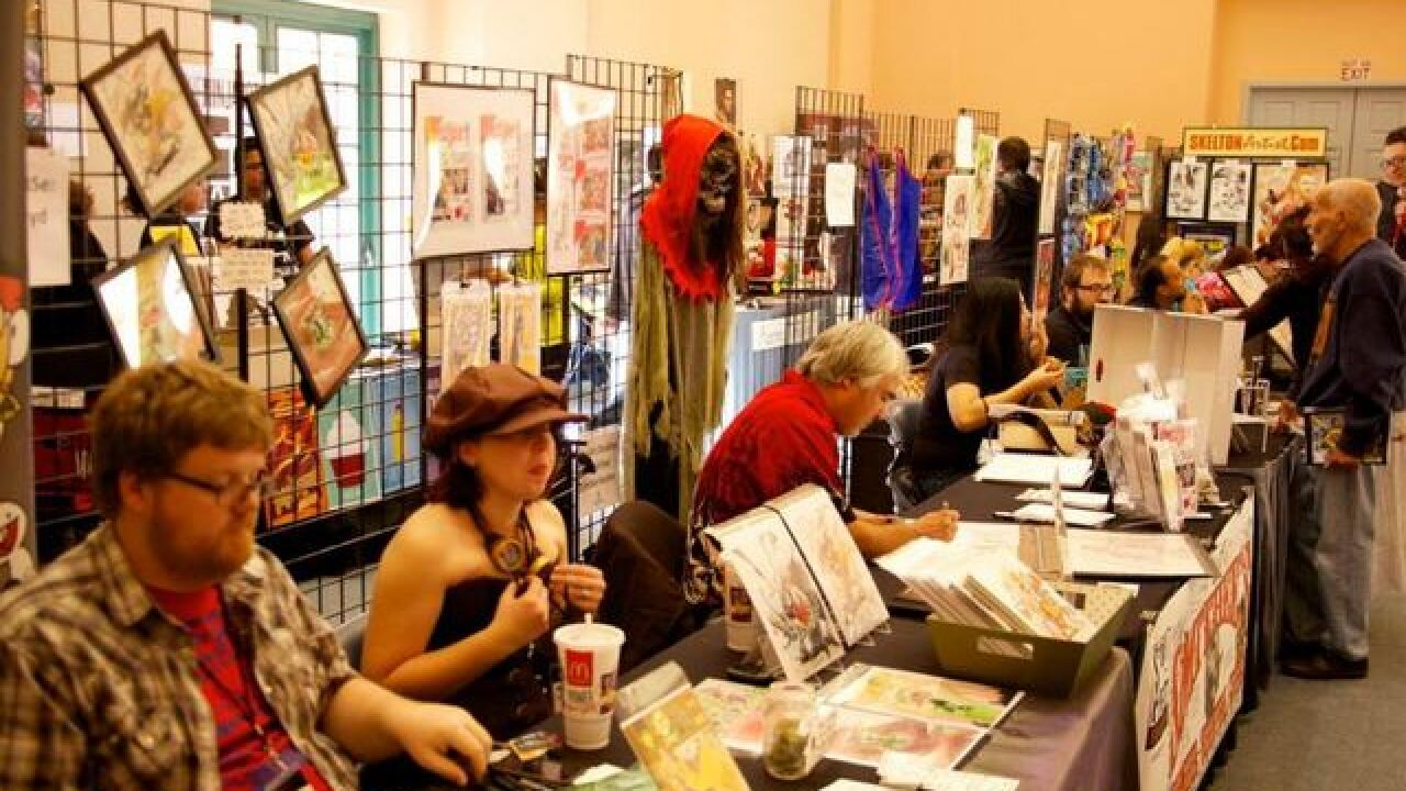 Vegas Valley Comic Book Festival happening this weekend