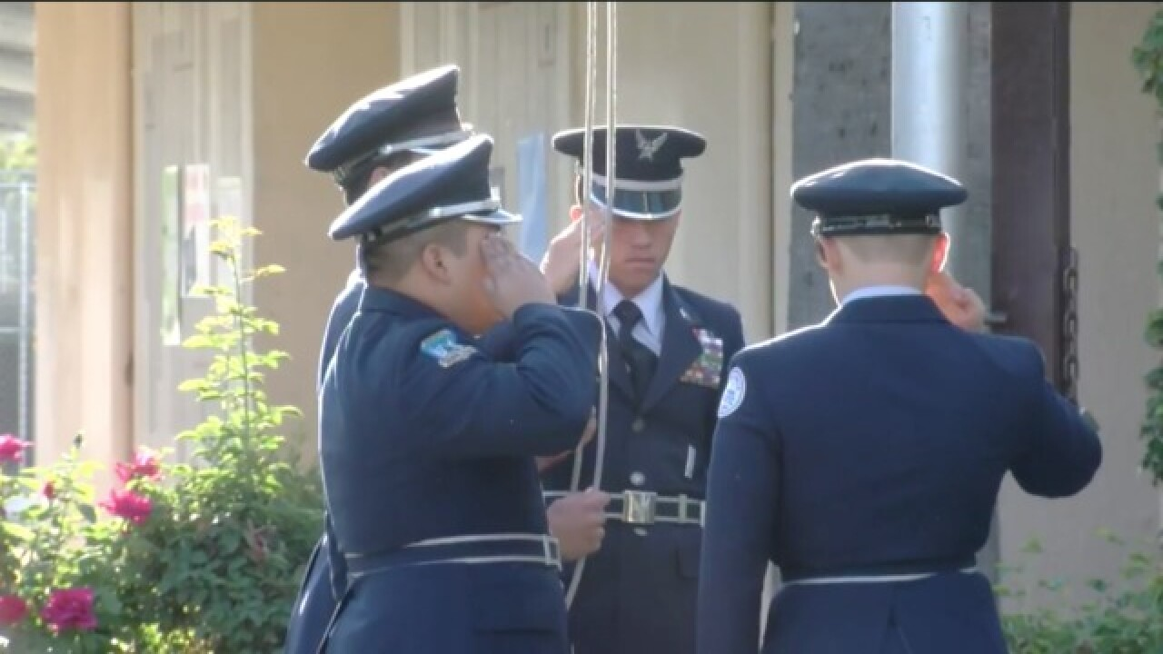Bakersfield High School holds annual 9/11 tribute