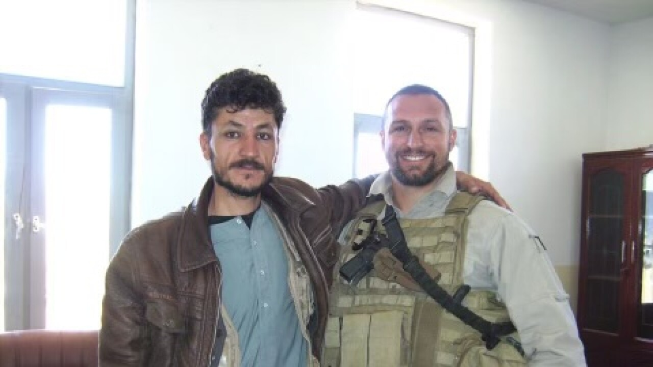 Will Akin in Afghanistan