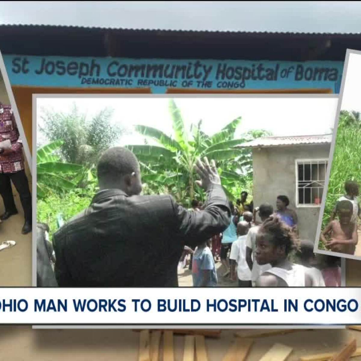 local man accomplishes dream of building hospital in congo. Black Bedroom Furniture Sets. Home Design Ideas
