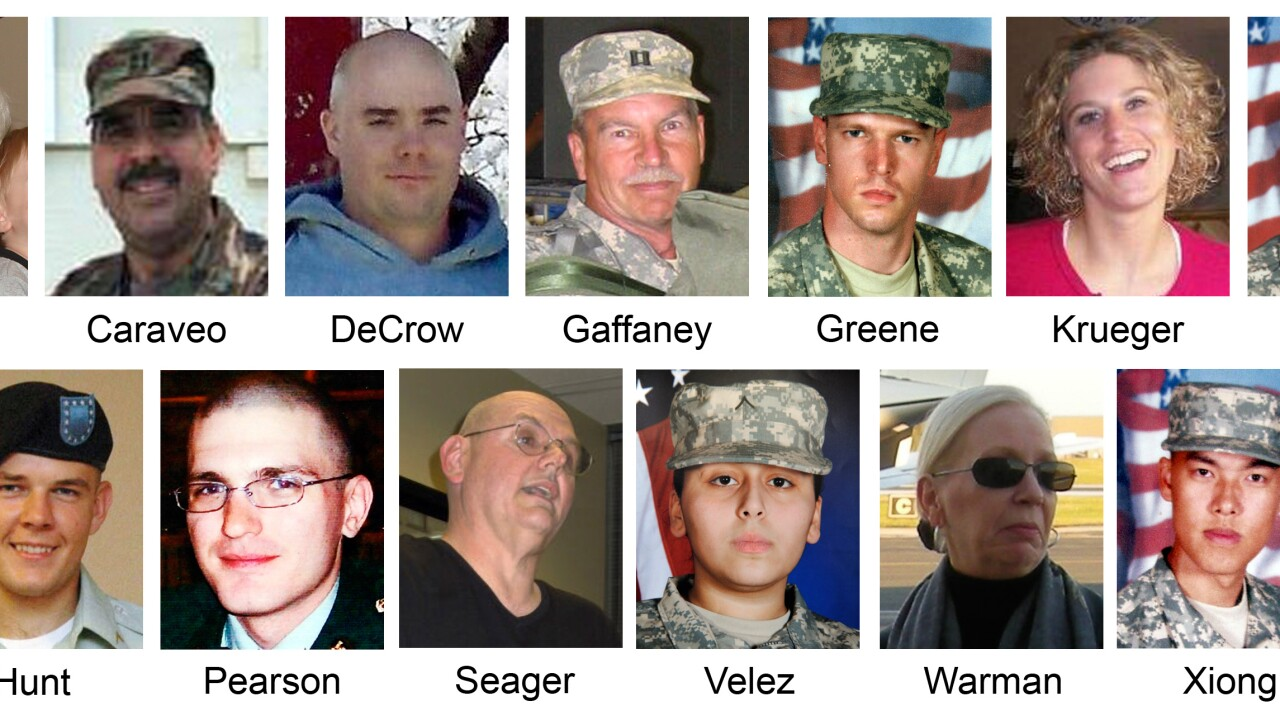 2009 Fort Hood Shooting victims