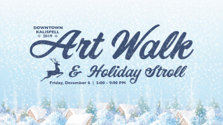 Over 35 businesses are participating in the Kalispell Art Walk and Holiday Stroll
