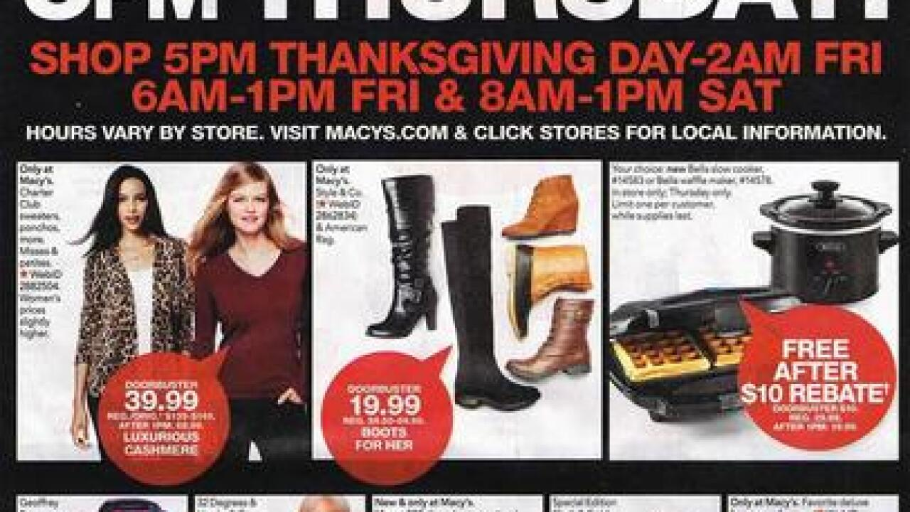Macy S 2016 Black Friday Ad Released