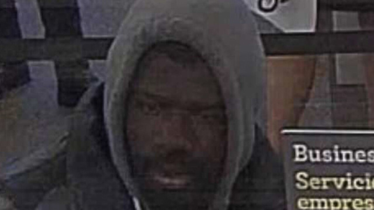 Do you know this suspected bank robber?