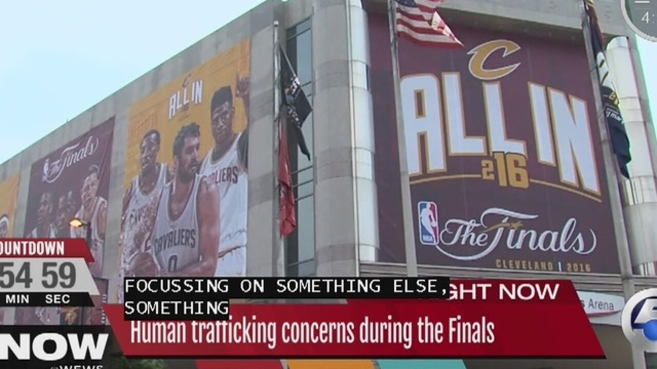 Sex crime could be the underbelly of NBA finals