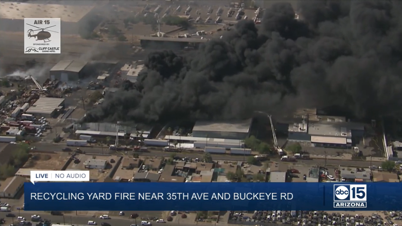 aerial shot of recycling yard fire.PNG