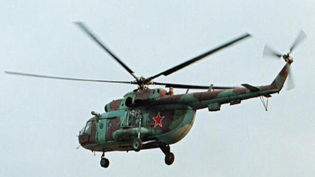 Russian helicopter shot down in Syria
