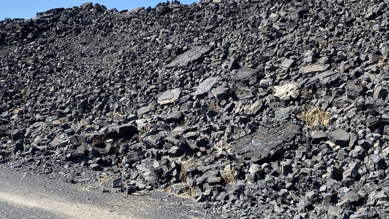 East Helena Slag Pile