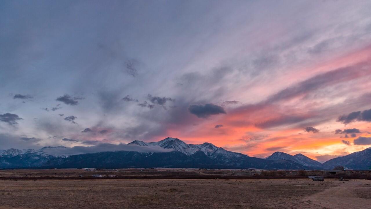Mt. Princeton Sunset