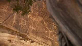 Uniquely Utah: impressive petroglyphs outside Vernal