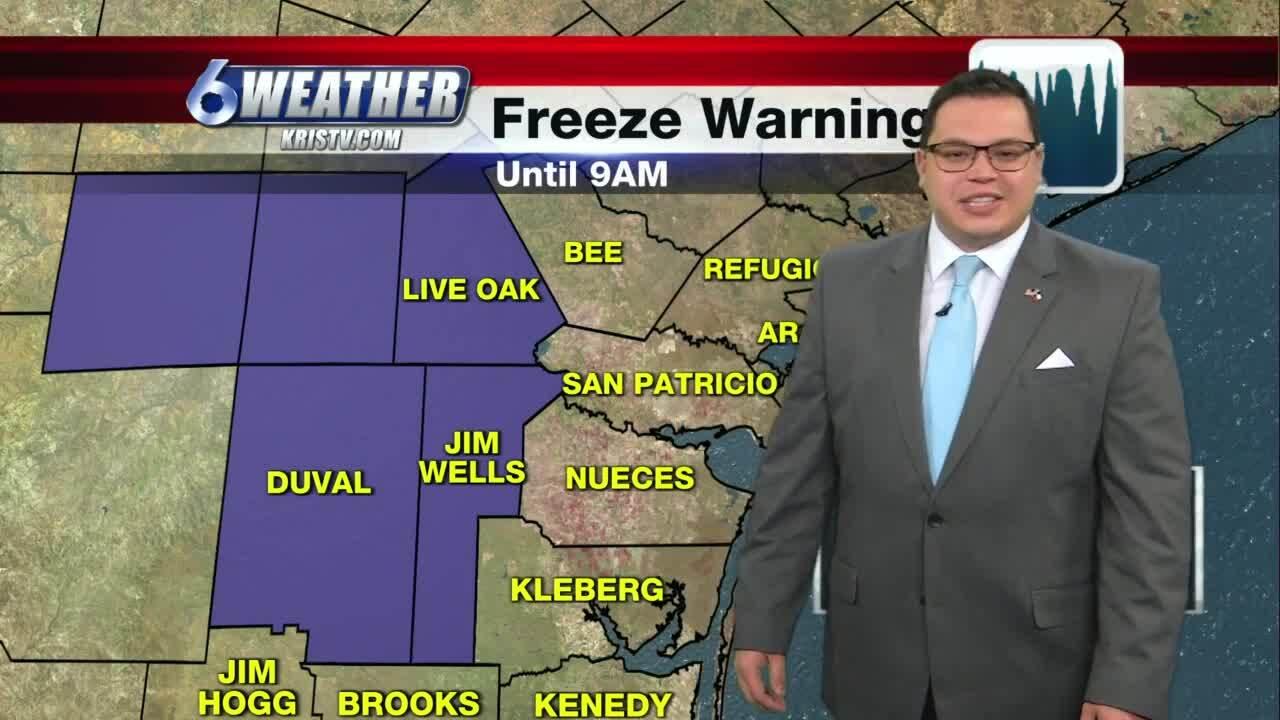 Juan Acuña's weather for Jan. 13