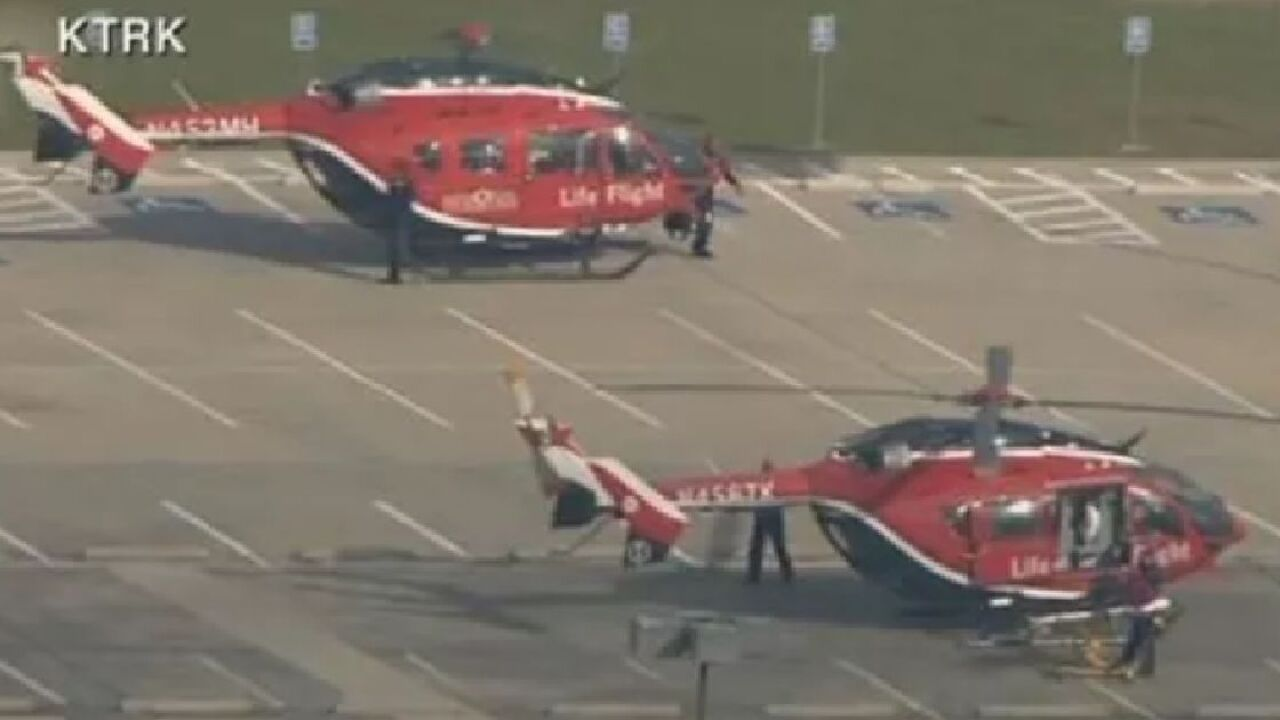 Report: Active school shooting situation at Texas high school