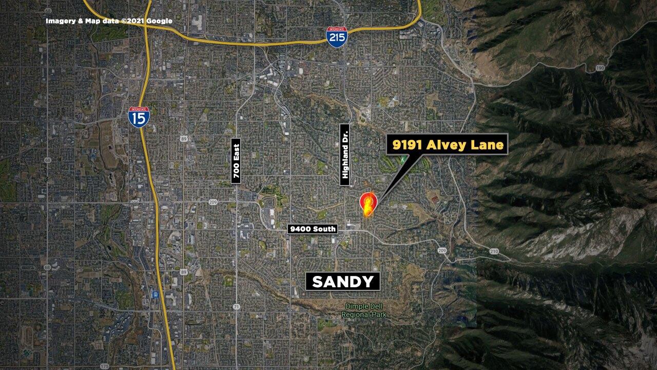 Sandy House Fire
