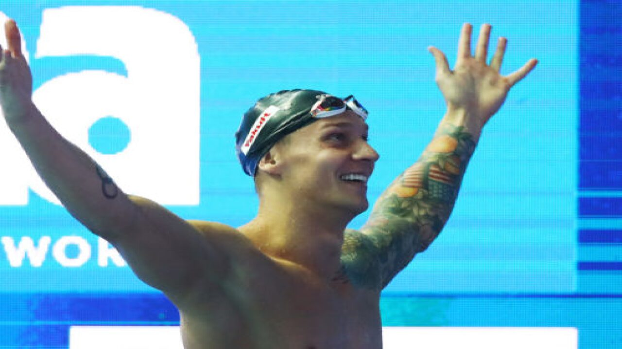 Caeleb Dressel Beats Michael Phelps' Record At World Swimming Championships