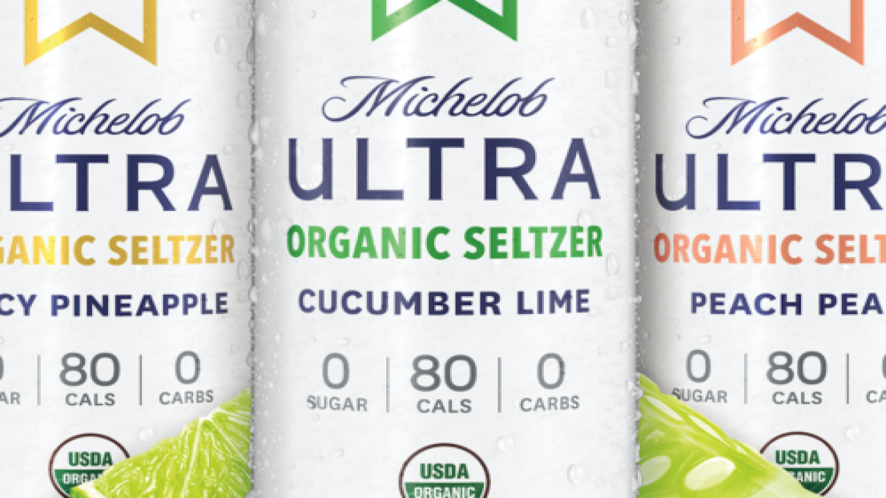 Michelob Ultra Has A New Line Of Hard Seltzer
