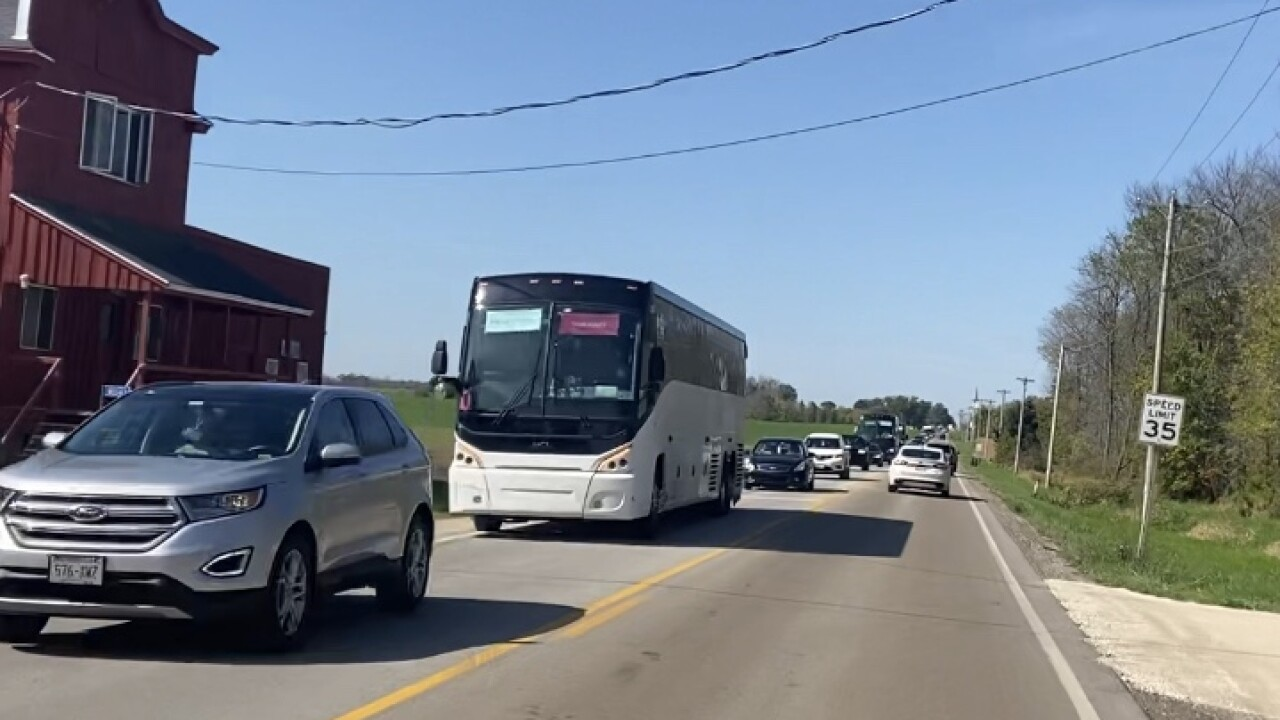 traffic to Ryder Cup
