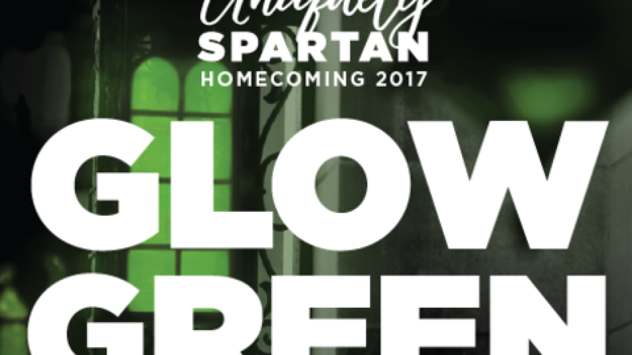 Homecoming 2017 to celebrate what makes us 'Uniquely Spartan'